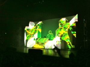 Skrillex at the Pageant in November 2011