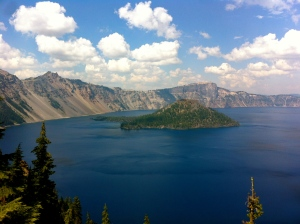 Crater Lake National Park!