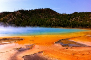 The amazing Grand Prismatic Spring