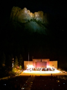 Evening lighting ceremony