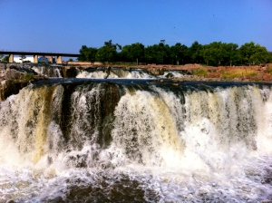 The mighty Sioux Falls