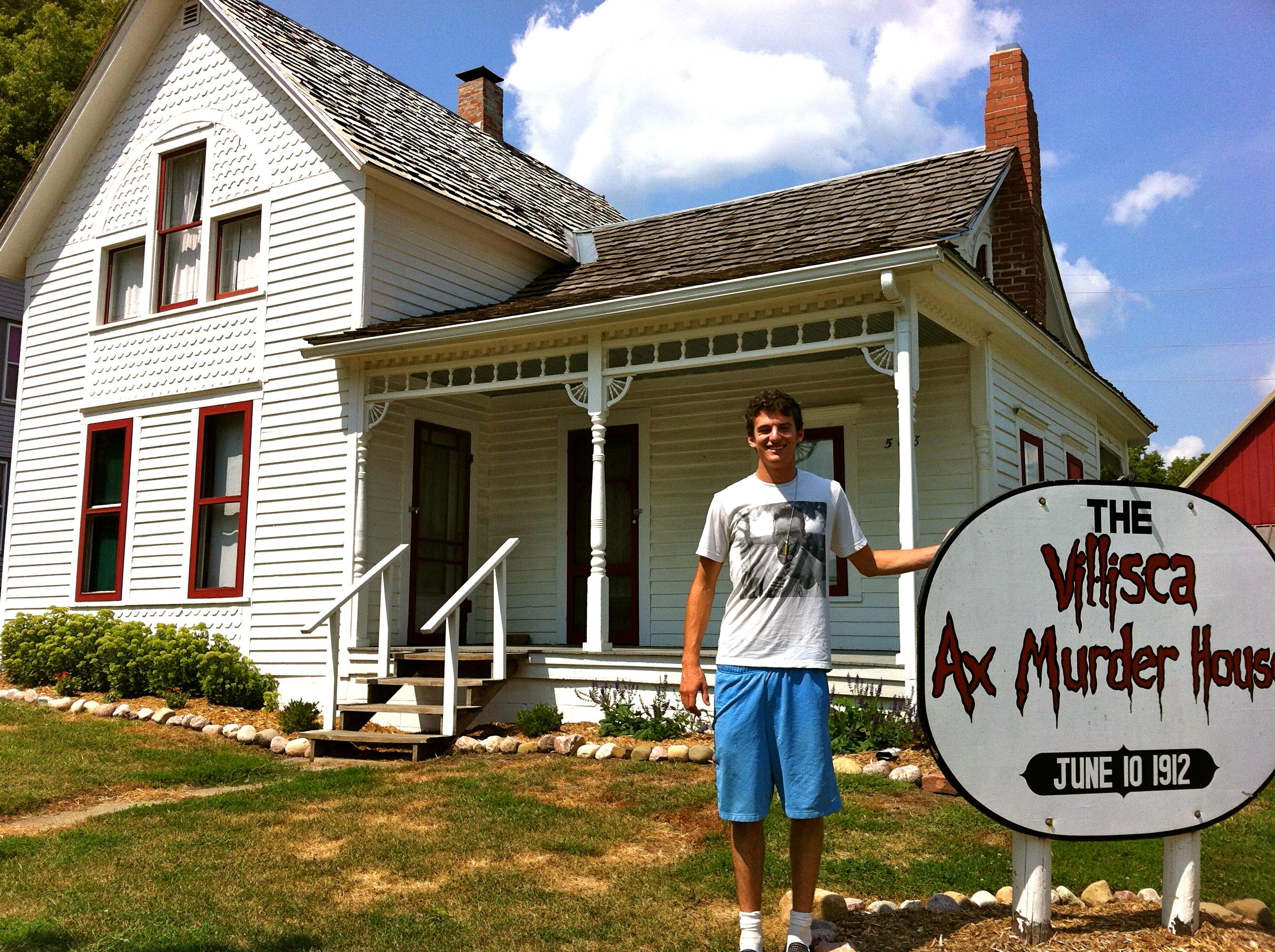 Day Sioux Falls Axe Murder House Kansas City