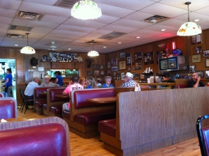 Clanton's Cafe- old school Oklahoma