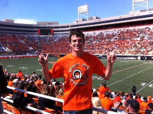 Shoot em up, OK State! Go Pokes Go!