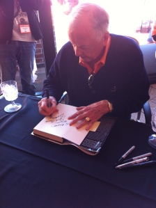 T Boone Pickens signing my book!