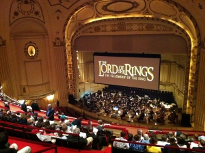 STL Symphony performing The Lord of the Rings at Powell Hall