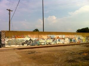 The flood wall