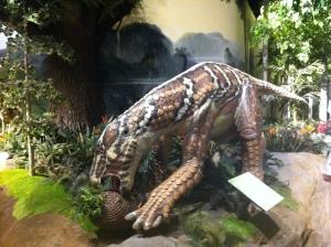 Very realistic dinosaurs