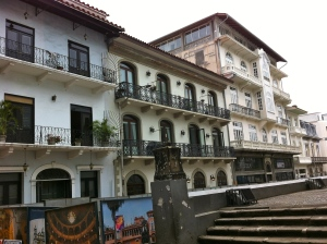 Typical street in Casco Viejo