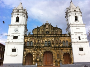 The Cathedral of Panama City in Casco Viejo.