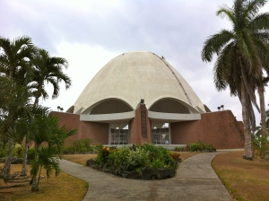 The Baha'i Mother Temple of Latin America