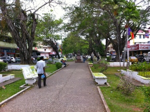 Paseo de Centernario, Colon