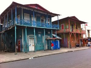 Colorful buildings in Colon