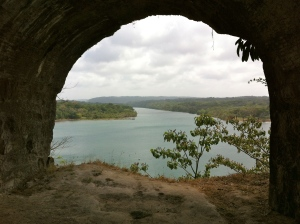 Mouth of the Chagres River at Castillo San Lorenzo