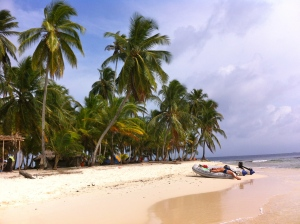 Lazy days in San Blas