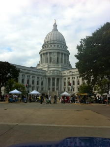 The Wisconsin State Capitol in Madison