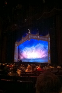 Book of Mormon at the Fox Theater, by far the largest theater in St. Louis.
