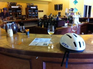 Bikers Welcome at the Mount Pleasant Winery
