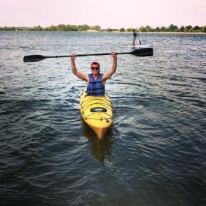 Kayaking on Creve Coeur Lake