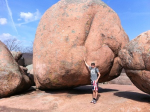 These rocks are big!