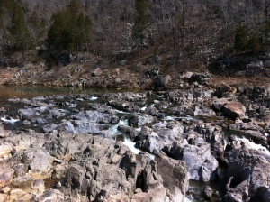 The geologic oddity of Johnson's Shut-ins