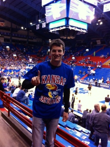 Kansas has sold out every baskeball game since 2002.