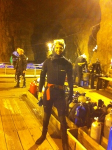 Ready to dive!!!