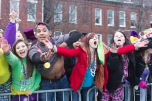 No shame on Mardi Gras