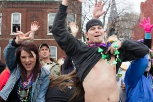 No shame on Mardi Gras