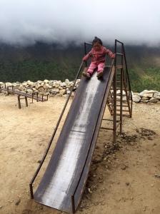 Highest slide in the world