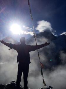 The epic Everest shot