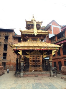 Temple in a Bhaktapur backstreet