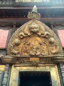 Golden gate in Patan Durbar Square
