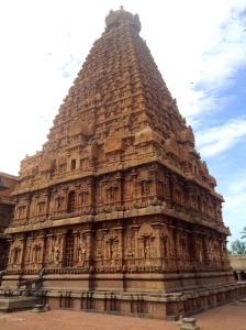 The Thanjavur Big Temple! Very different from the others.