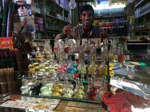 Oil salesman- this guy was actually really nice and the best person I met in Mysore.