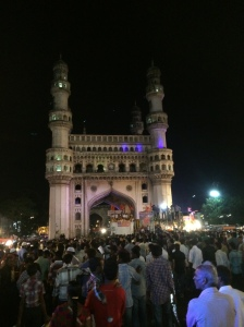 Charminar with the stage in front