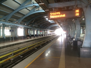 Bangalore Metro- super shiny