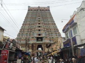 Largest gopuram in the world in Trichy