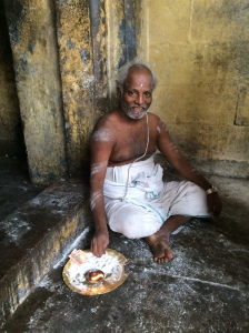 Temple priest in Trichy