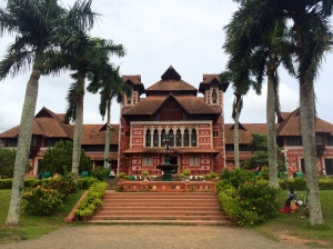 The Kerala Art Museum in a house deigned by Robert Chisholm