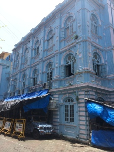 Jewish synagogue in Mumbai- the Jews have been in India for 2,000 years and have a unique culture.
