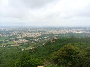 View from Chamundi Hill
