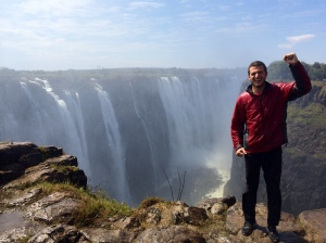 Zimbabwe side of Victoria Falls
