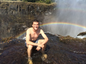 Swimming with rainbows