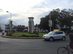 The Arusha Clocktower marks the midway point between Cairo and Cape Town