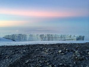 Top o' the glacier