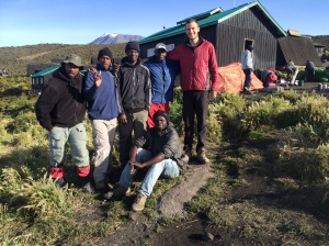 "Team ""Get Bryce Up Kilimanjaro"""