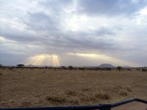 Unreal light beams
