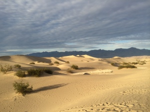Mesquite Sand Dunes near Stovepipe Wells