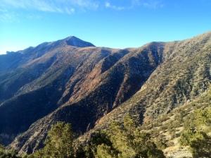 First view of Telescope Peak!